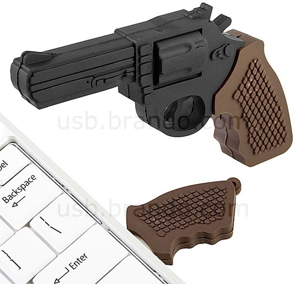 gun usb flash drive 1