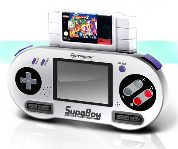 Hyperkin SupaBoy SNES Portable: 16-Bits to Go