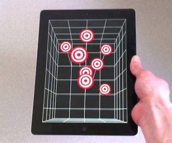 iPhone 4 & iPad 2 Head Tracking via Front Camera: It's 3DTime!