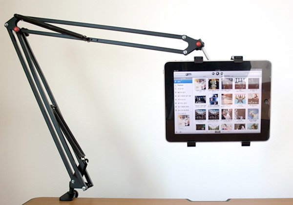 Pleasant Articulated Arm Tablet Holder If Ipad And Luxo Jr Had A Baby Interior Design Ideas Oteneahmetsinanyavuzinfo
