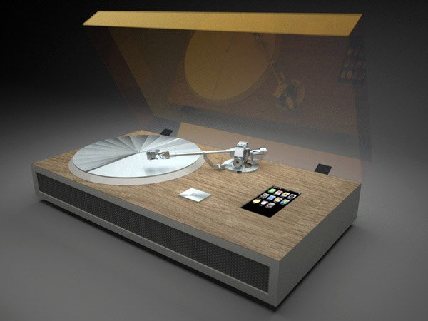 Iphone Turntable Concept Converts Vinyl To Itunes Technabob