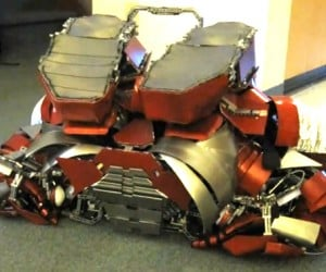Iron Man Mark V (Sort of) Briefcase Suit Cosplay