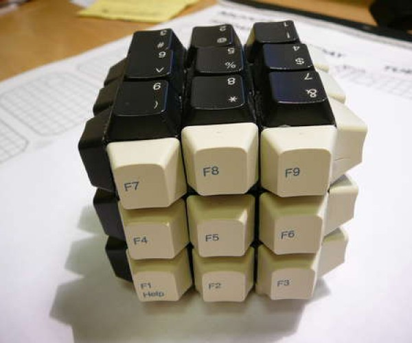 keyboard rubiks cube by overlord5 2