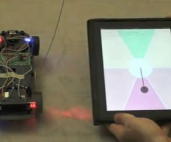 RC Car Hacked With Kinect or iPad Controls
