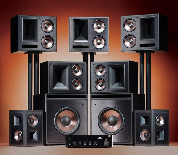 klipsch thx ultra 2 7 1 surround system 1