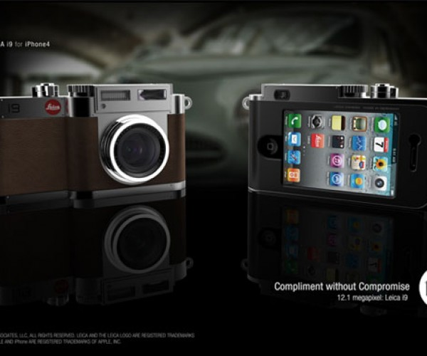 Leica i9 Concept Combines iPhone with M9 Camera