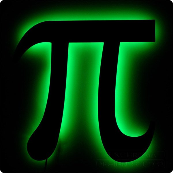 light up pi symbol 1