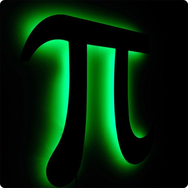 light up pi symbol 2