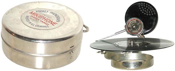 mikiphone pocket phonograph