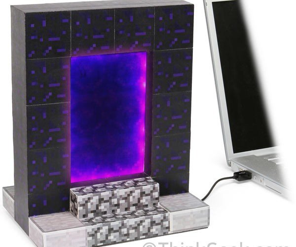 Minecraft USB Desktop Nether Portal Blocks Stress, Stores/Imprisons Crap