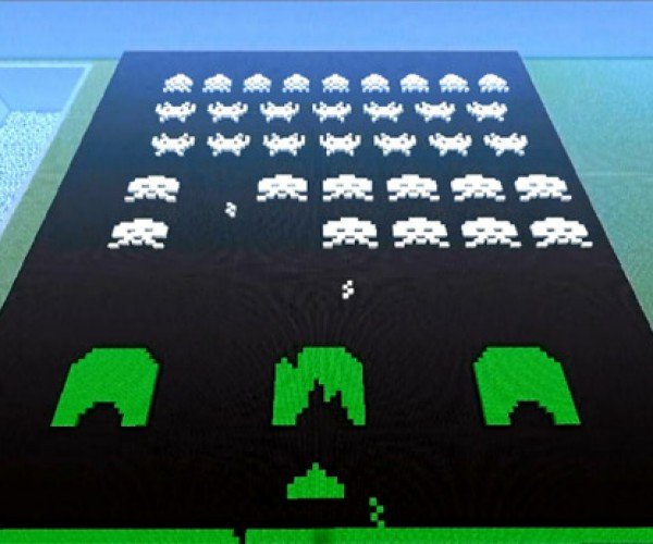 Minecraft Space Invaders