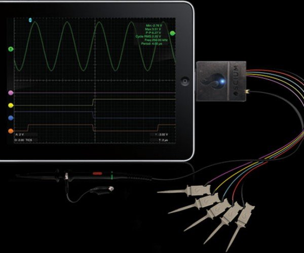 Oscium Turns iOS Devices into iOScilloscopes