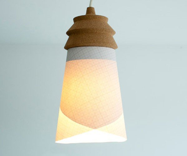 Pinha Customizeable Light Fixture: Put a Cork in It!