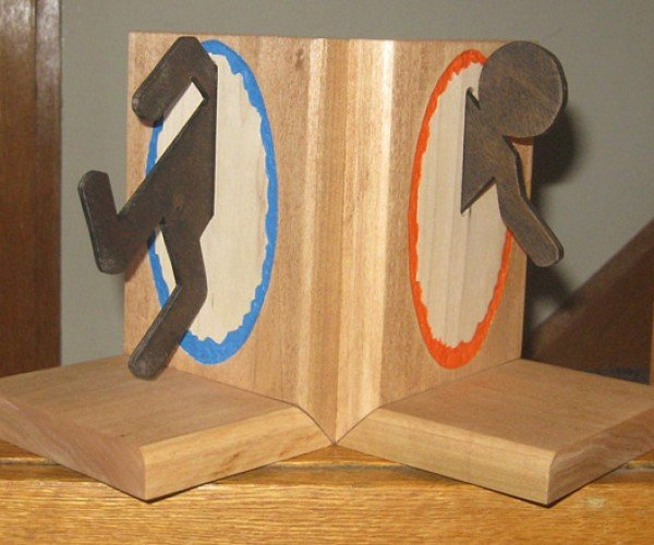 Portal Bookends: Read Books. There Will Be a Test.