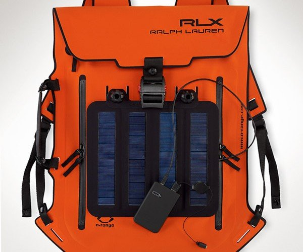 Ralph Lauren RLX Solar Backpack: Charge Your Gadgets, (Over)Charge Your Credit Card