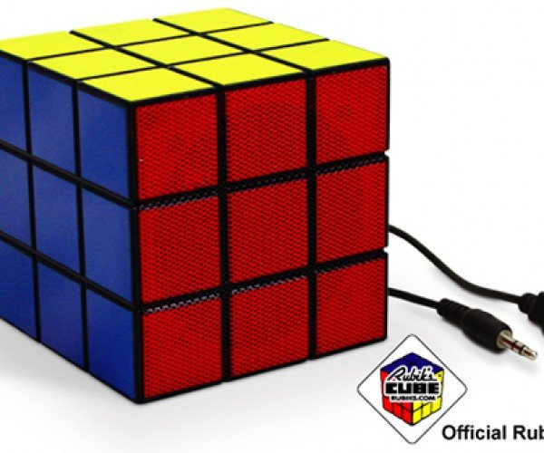 Rubik's Speaker: No Solving, Just Sound