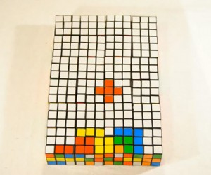 Tetris Played With Rubik's Cubes: Fun to Watch But Not to Play