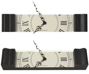 Sliced Grandfather Clock: If You Need the Time But Don't Have the Space