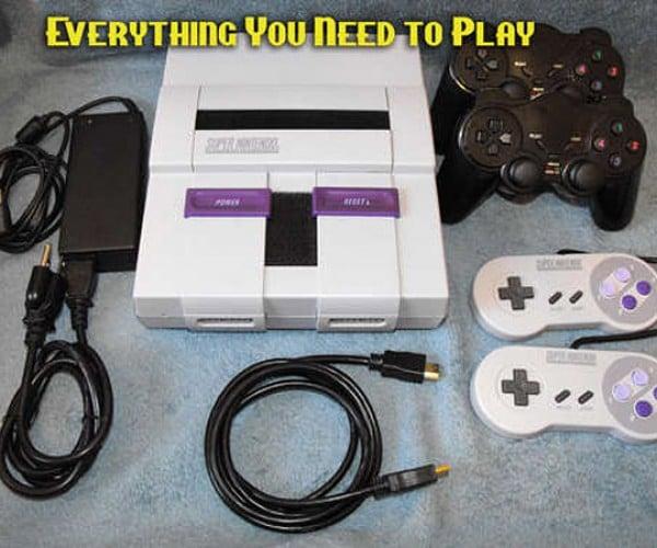 Super NES Hacked Into Super Classic Video Game Console
