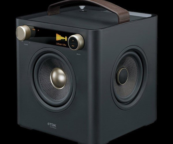 TDK Sound Cube: It's Hip to Be Square