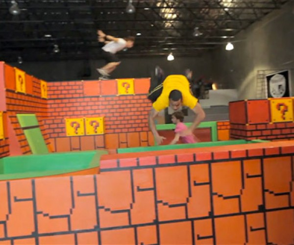 If You Work Out at This Gym, Humming the Mario Theme Isn't Optional