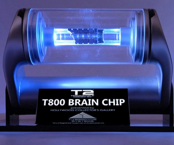 Terminator 2 T-800 Brain Chip Replica: A Must Buy For Humans