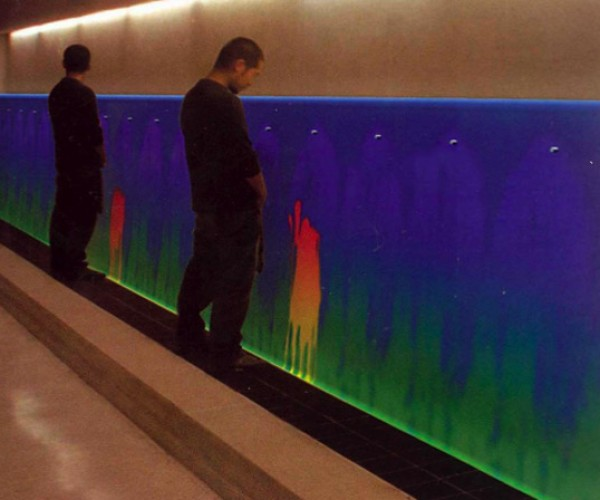 Thermochromic Urinal: Color My World (with Pee)
