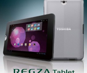 Toshiba Unveils Regza AT300 Tablet in Japan