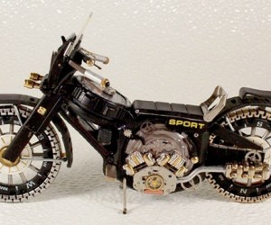 Watch Part Motorcycles Don't Ride or Tell Time, But Still Look Cool