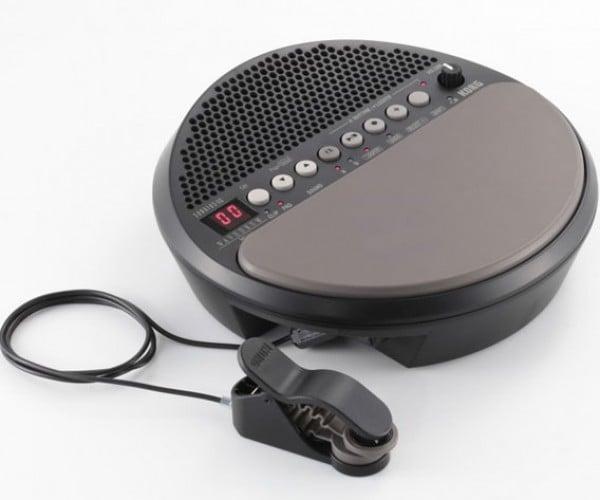 Korg Wavedrum Mini Turns Desktop Tappers into Drummers
