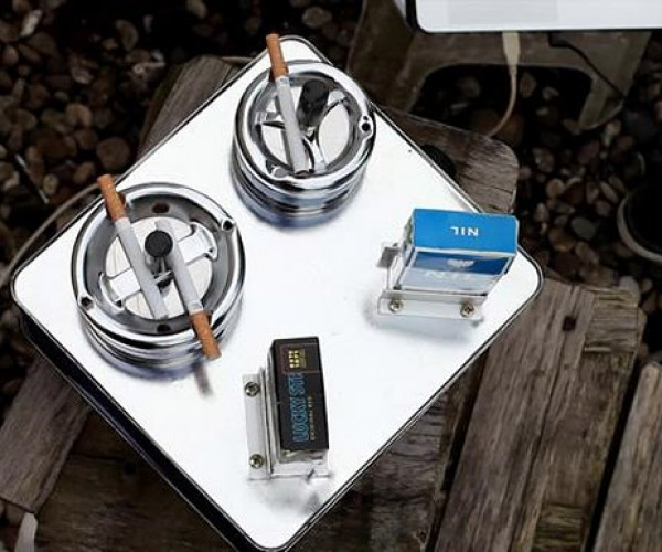 Ziggybox: Cigarette-Controlled Synthesizer Makes Smokin' Sounds