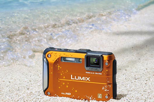 panasonic lumix dmc ft3 rugged camera point-and-shoot