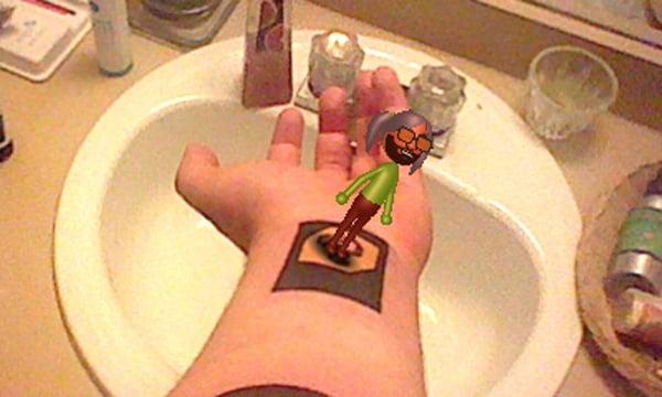 augmented reality nintendo 3ds tattoo cbz mii