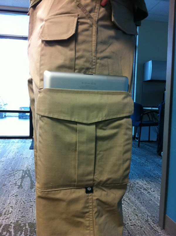 ipad 2 pants pockets tactical cargo military case