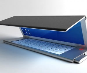 Feno Laptop Concept Has Foldable OLED Screen