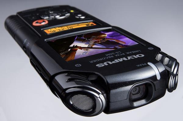 olympus ls-20m camera video cam capture audio