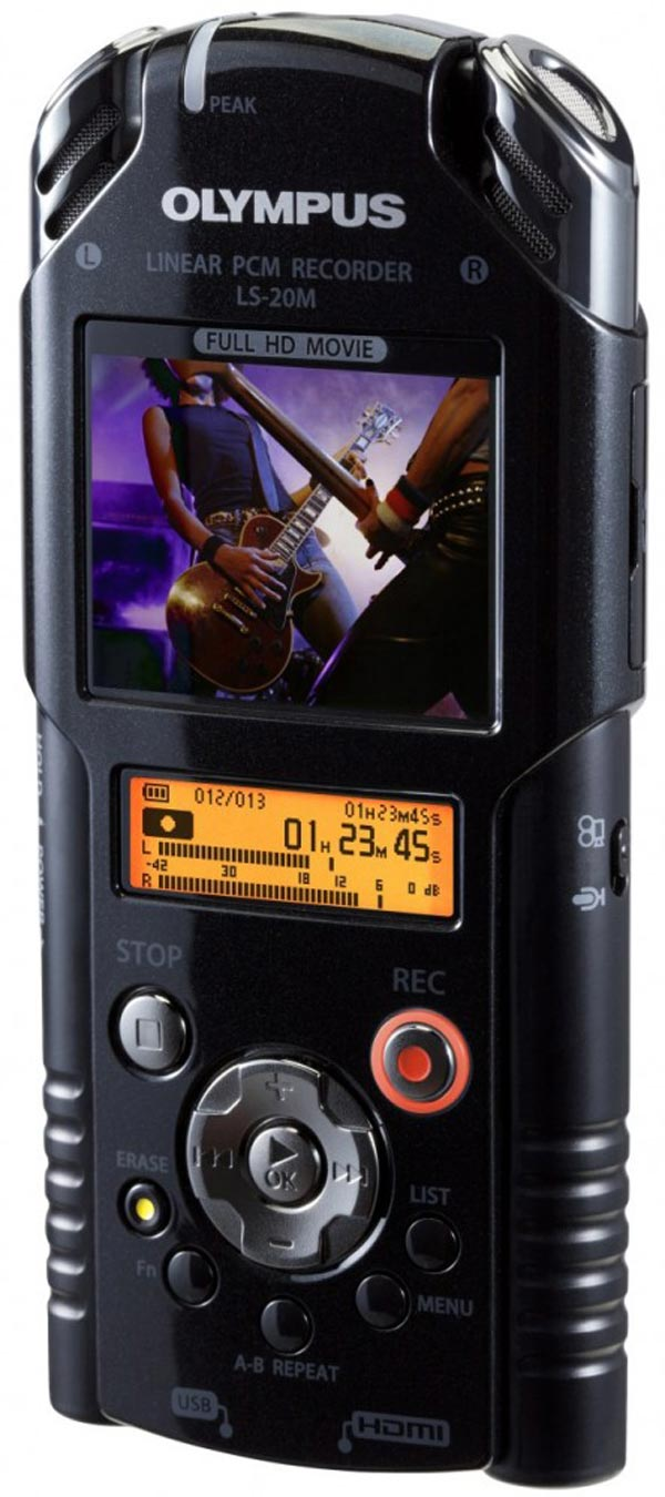 olympus ls-20m camera video cam capture audio