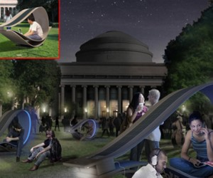Solar-Powered Lounge Chairs: You Chill While Your Gadgets Recharge