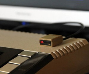 3D Printed MicroSD Reader Poses as Micro Atari 810 Floppy Drive