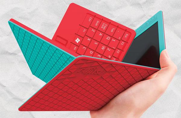 flexbook fujitsu design award hao-chun huang laptop tablet concept