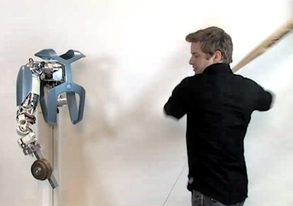 dlr space arm robotic hand sturdy design