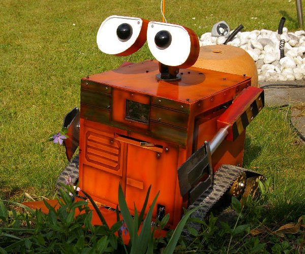 pc case wall-e remote control rc mod hack