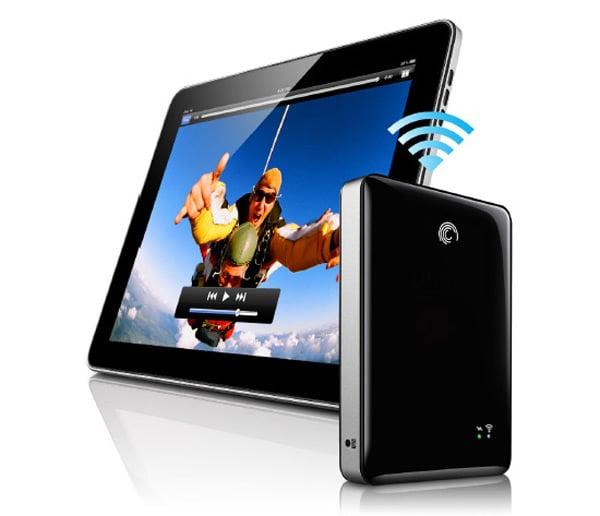 seagate goflex satellite ipad iphone hd hard drive wireless