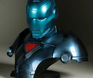 The Stealth Iron Man Bust: Tony Stark Never Looked so… Blue