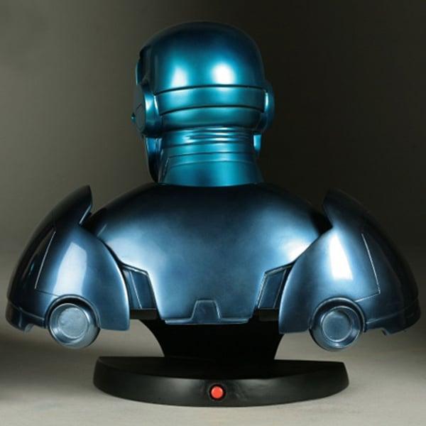 stealth iron man tony stark marvel bust statue