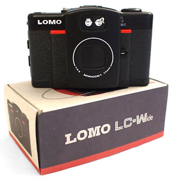 lomo wide angle lc-wide lc-a+ analog film camera
