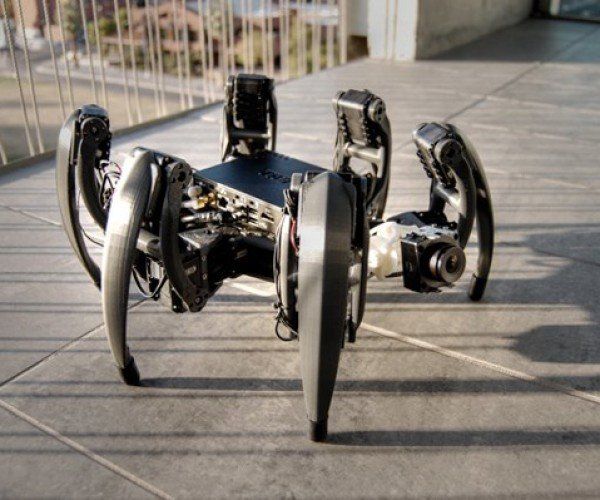 My Hexapod Robot is Smarter than Your Hexapod Robot