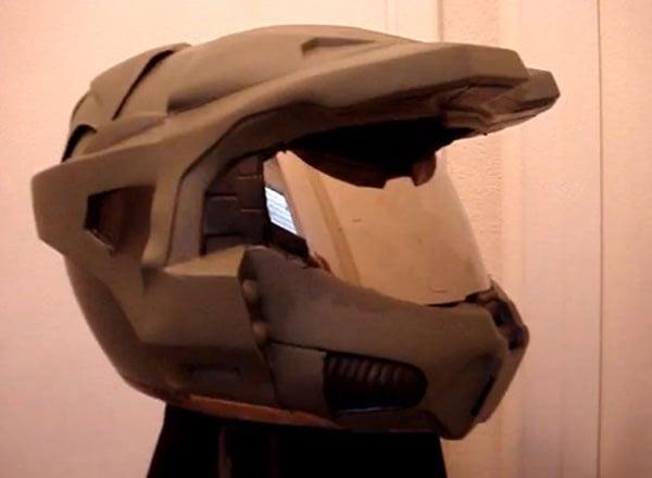 Geeky Motorcycle Helmet