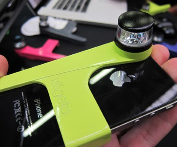 Kogeto's Dot Panoramic iPhone Lens: i360 Degrees