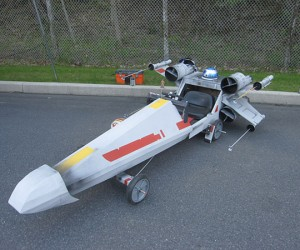 The 75-Dollar X-Wing Soapbox Derby Car: The Force Is Strong in This One